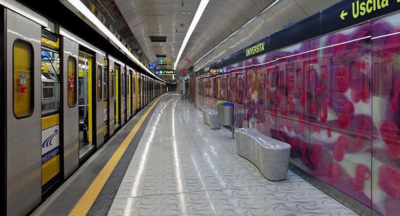Chiusura anticipata metro linea 1 Napoli 9 novembre 2016