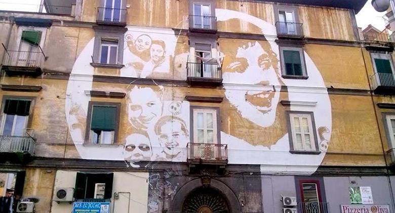 Street Art partecipata al Rione Sanità a Napoli