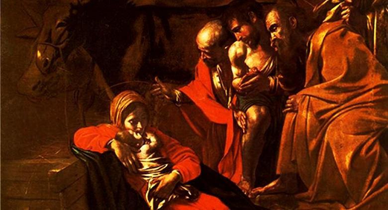 Natività di Caravaggio a Napoli