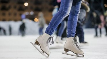Volcano ice rink 2016 Christmas voucher