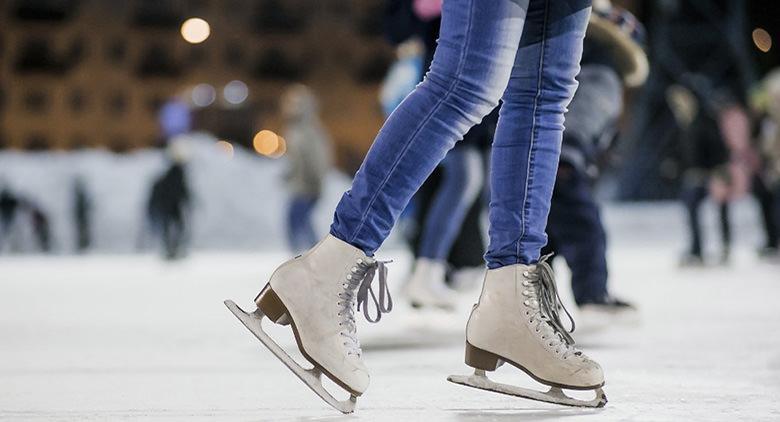 Pista di pattinaggio su ghiaccio al Vulcano Buono per Natale 2016