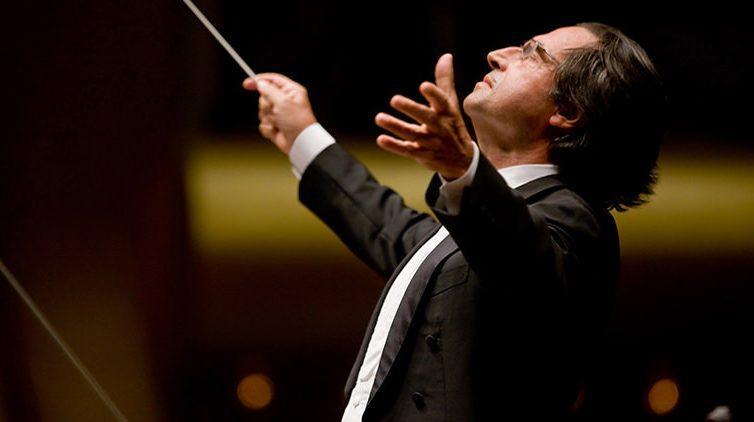 Riccardo Muti al Conservatorio di San Pietro a Majella a Napoli