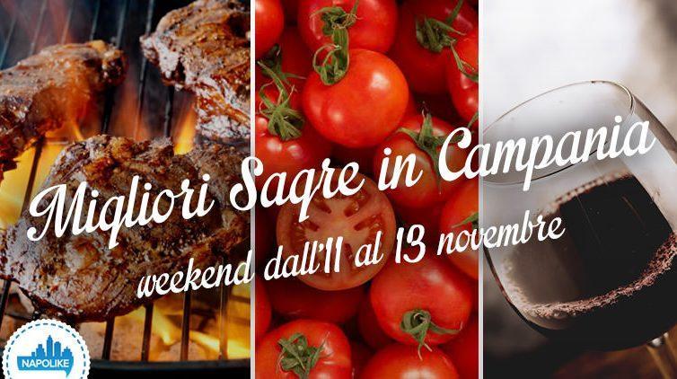 Sagre in Campania nel weekend dall'11 al 13 novembre 2016