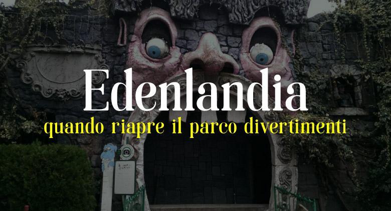 Edenlandia a Napoli, il parco divertimenti svela la data di inaugurazione
