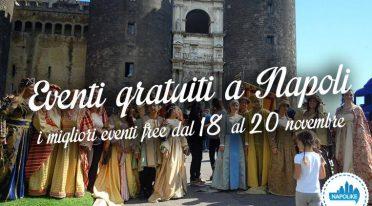 Eventi gratuiti a Napoli nel weekend dal 18 al 20 novembre 2016