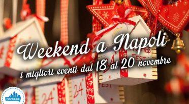 Eventi a Napoli nel weekend dal 18 al 20 novembre 2016