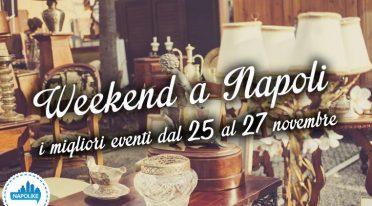 Eventi a Napoli nel weekend dal 25 al 27 novembre 2016