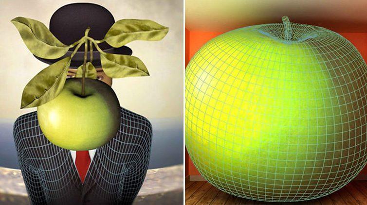 Magritte in 3D alla Villa Favorita di Ercolano