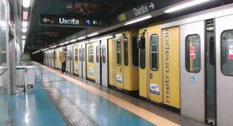 Chiusura anticipata metro linea 1 Napoli 14 novembre 2016