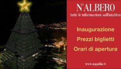 N'Albero a Napoli: prezzi dei biglietti, orari e inaugurazione