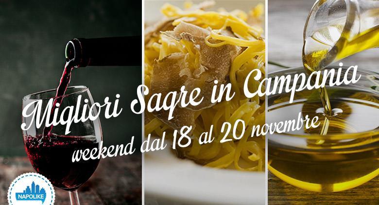 Sagre in Campania nel weekend dal 18 al 20 novembre 2016