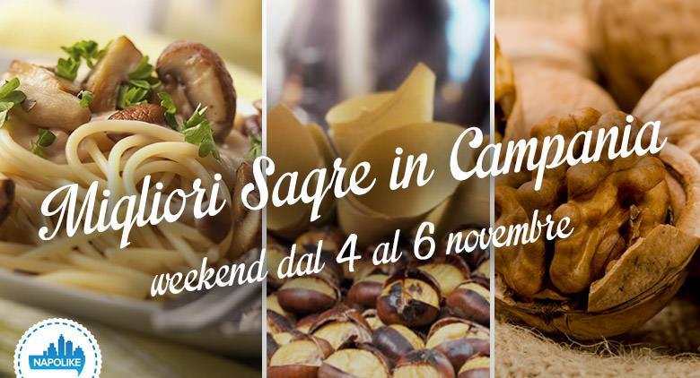 Sagre in Campania nel weekend dal 4 al 6 novembre 2016