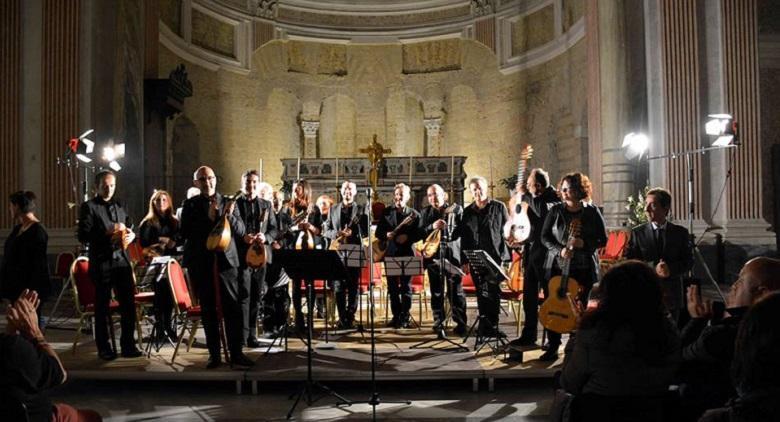 Accademia Mandolinistica Napoletana al Palazzo Reale