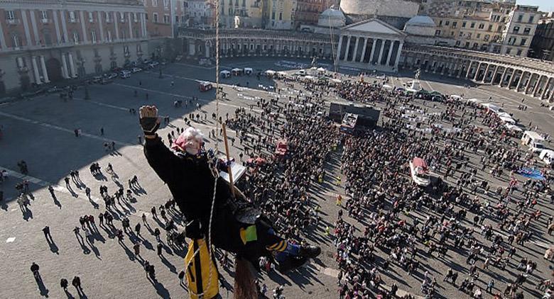 Festa della Befana 2017 in Piazza Plebiscito a Napoli