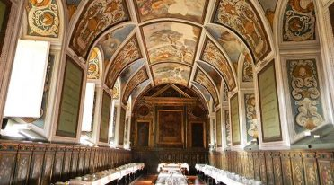 Музыка в священных местах церквей Неаполя в декабре 2016