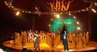 Circo Lidia Togni Montecarlo a Napoli