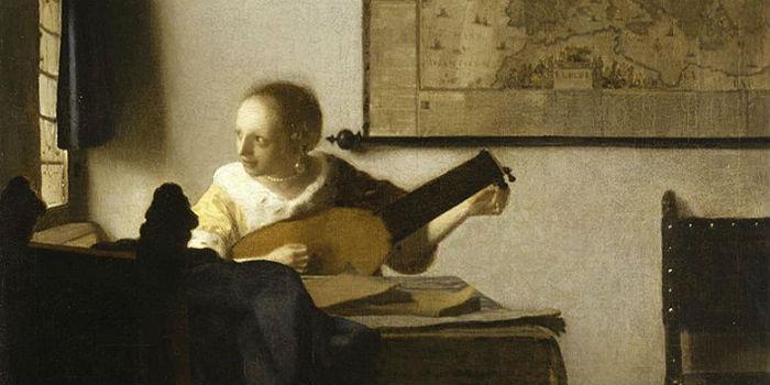 La suonatrice di liuto di Vermeer al Museo di Capodimonte di Napoli