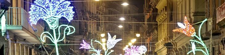 إضاءات عيد الميلاد في نابولي