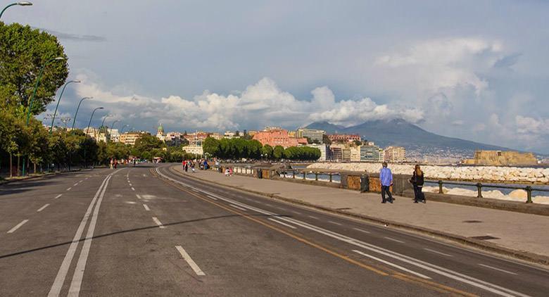 Dispositivo di traffico a Napoli per Capodanno 2017