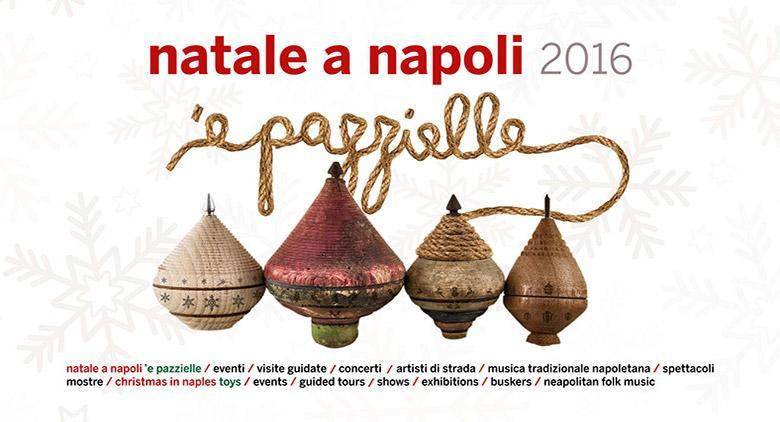 Il programma di eventi del comune per Natale 2016 a Napoli