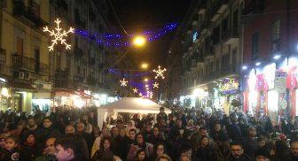 Notti bianche in via Nazionale e Napoli per Natale 2016