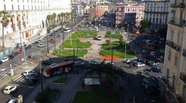 Aperti i giardini in Piazza Carlo III