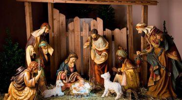 Exhibition of the nativity scene at the Castel dell'Ovo