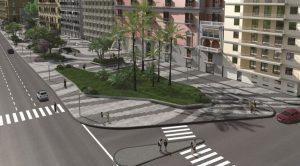 Progetto della stazione San Pasquale metro linea 6 a Napoli