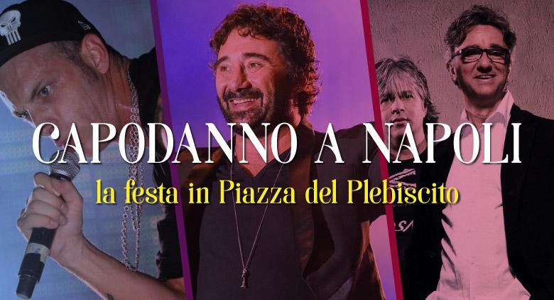 Capodanno 2017 a Napoli, concerto Piazza Plebiscito