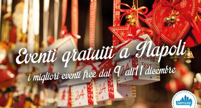 Eventi gratuiti a Napoli nel weekend dal 9 all'11 dicembre 2016