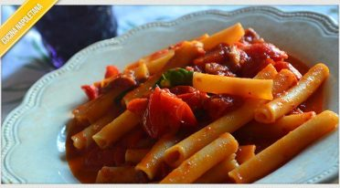 Recipe of the larded ziti