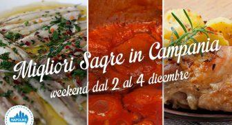 Sagre in Campania nel weekend dal 2 al 4 dicembre 2016