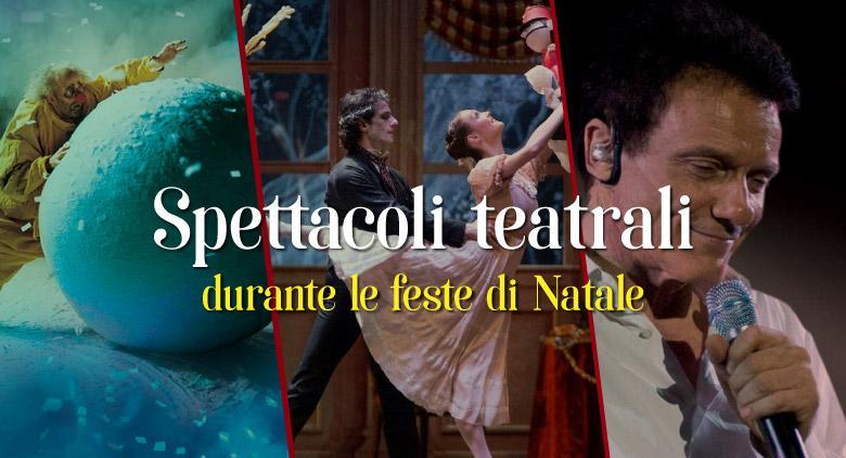 Spettacoli teatrali a Napoli per le feste di Natale 2016