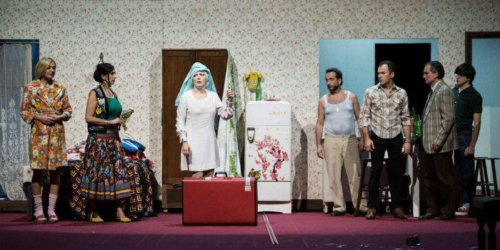 Una scena dello spettacolo Un tram che si chiama desiderio al Teatro Mercadante di Napoli