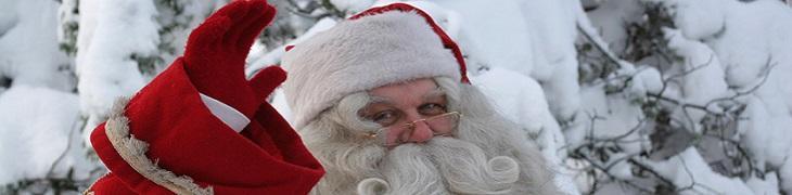 Gloria Village con Babbo Natale
