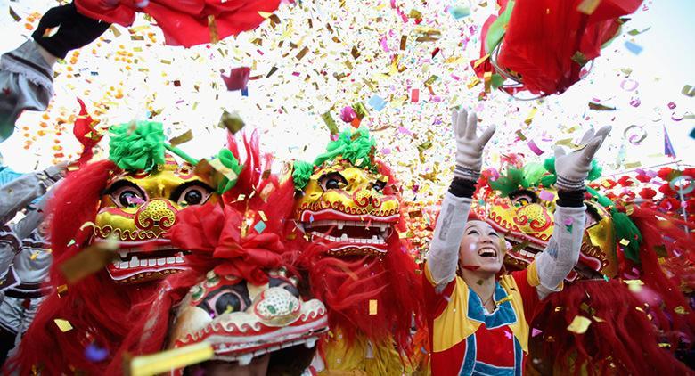 Capodanno Cinese 2017 alla Rotonda Diaz di Napoli