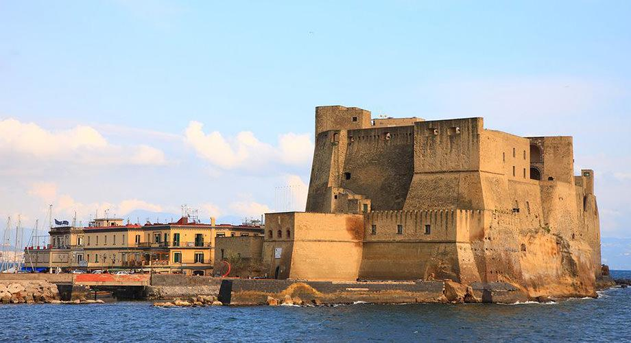 The Castel dell'Ovo in the Gulf of Naples