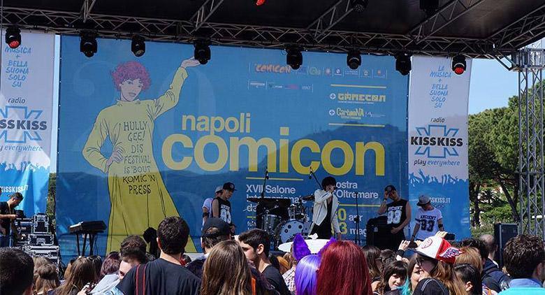 Info sul Comicon 2017 a Napoli