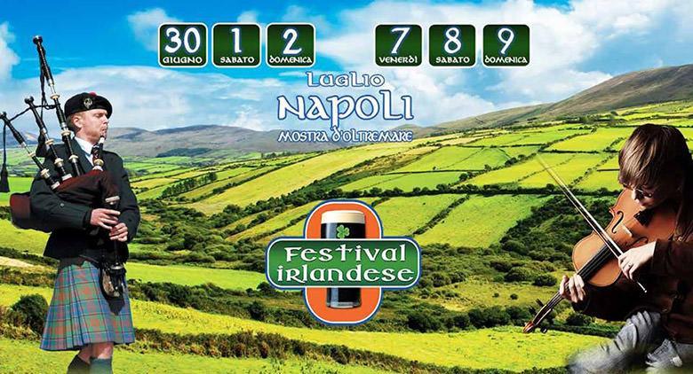 Alla Mostra d'Oltremare il Festival Irlandese