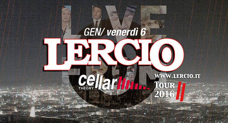 Lercio Show arriva al Cellar Theory a Napoli