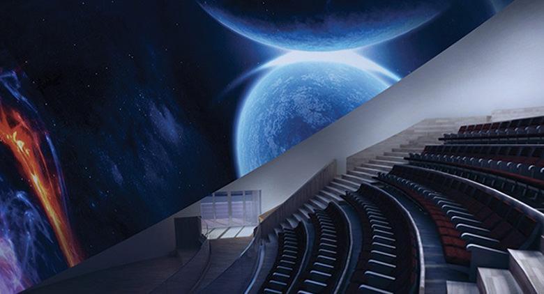 Risultati immagini per planetario città scienza
