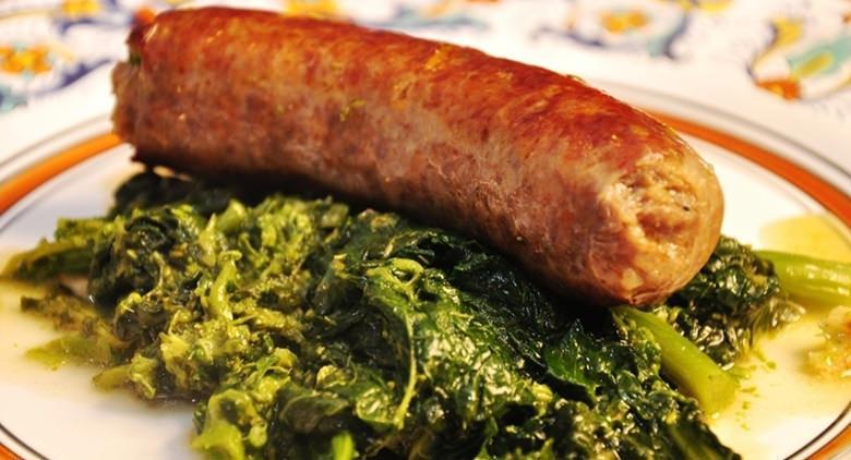 Sagra salsiccie e friarielli 2017 a Striano
