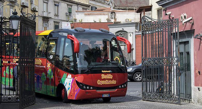 Shuttle Museo di Capodimonte: nuova fermata alle Catacombe di San Gennaro
