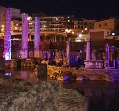 Il Tempio di Serapide a Pozzuoli sarà illuminato: aumenta il fascino dello storico Macellum