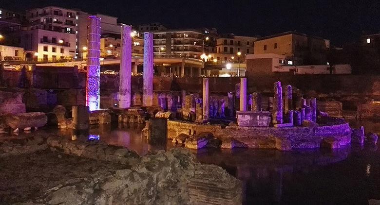 il Tempio di Serapide a Pozzuoli sarà illuminato nella primavera 2017