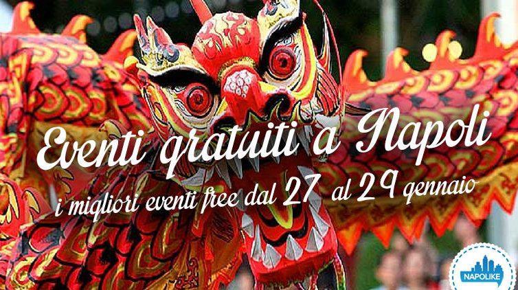 Eventi gratuiti a Napoli nel weekend dal 27 al 29 gennaio 2017