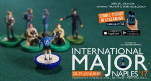 I campioni mondiali di calcio da tavolo si sfidano a Napoli