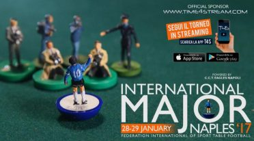 The world champions of table football compete in Naples