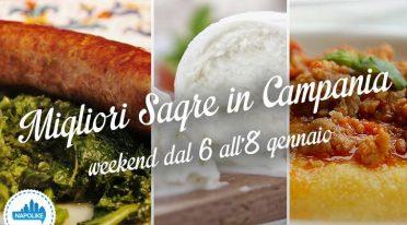 Sagre in Campania nel weekend dal 6 all'8 gennaio 2017