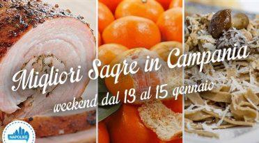 Sagre in Campania nel weekend dal 13 al 15 gennaio 2017